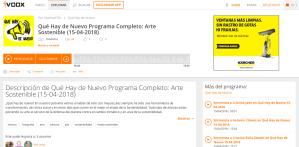 Qué Hay de Nuevo Programa Completo Arte Sostenible 15 04 2018 en Qué Hay de Nuevo en mp3 15 04 a las 09 33 58 59 00 25363386 iVoox