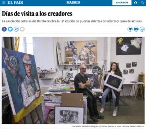 Días de visita a los creadores Madrid EL PAÍS